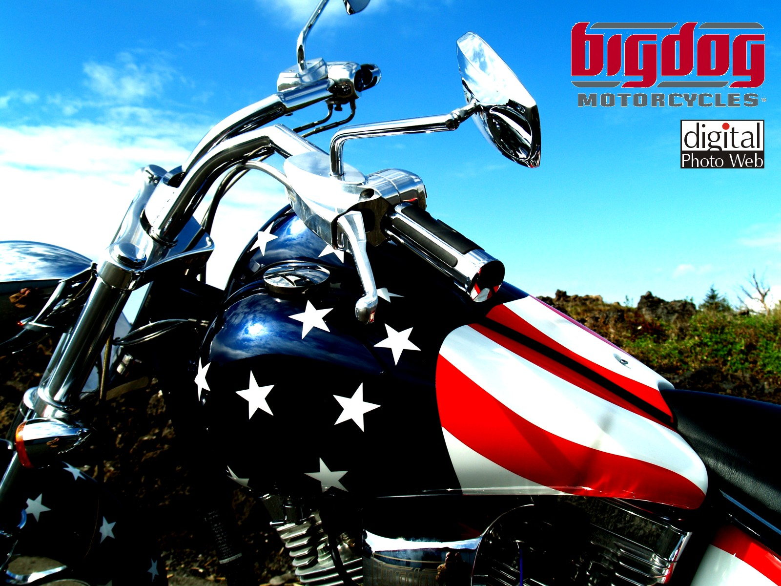 bigdog motocycles wallpaper 2 Motorcyle wallpapers