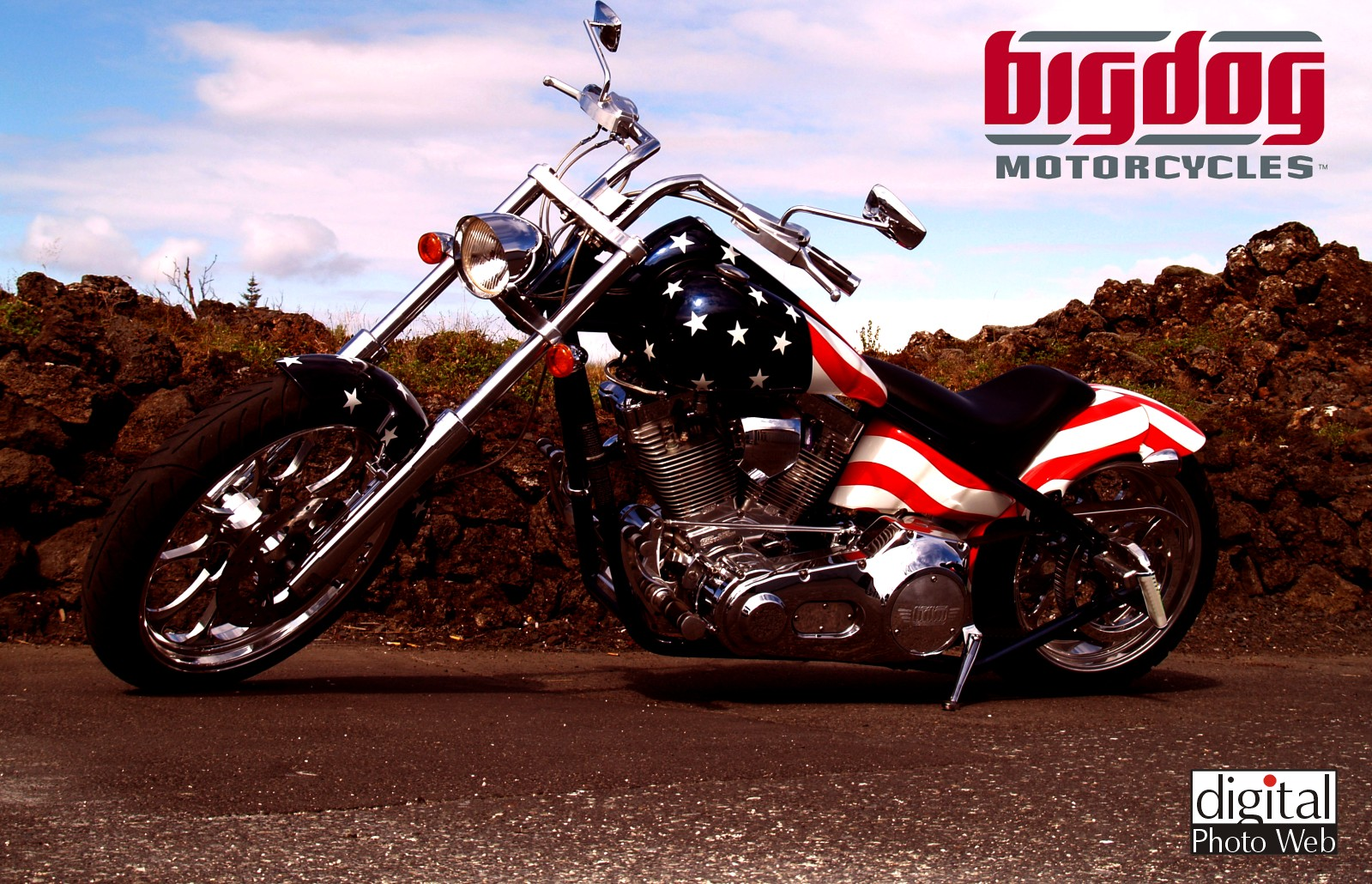 big dog motorcycles wallpaper