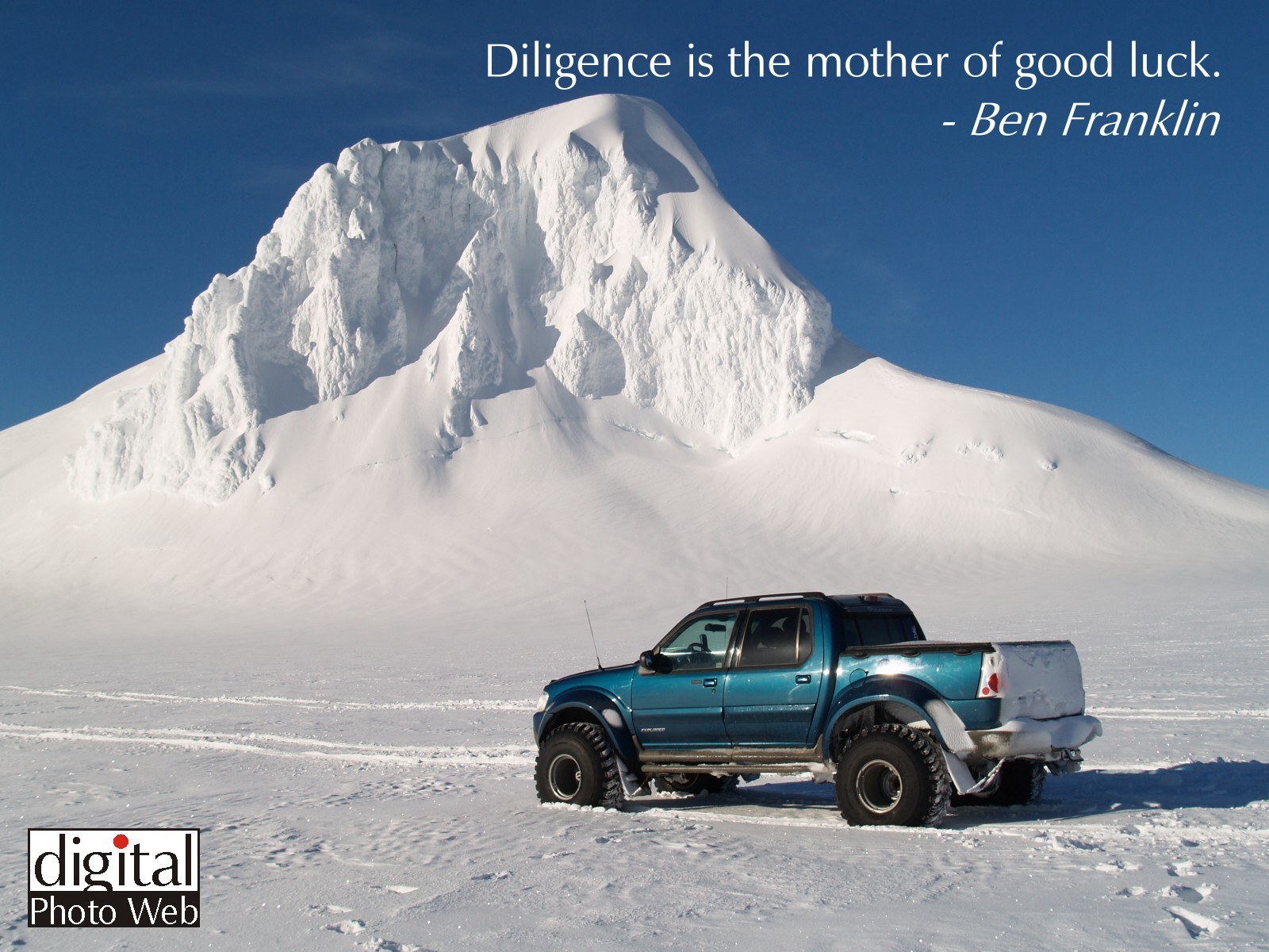 Free Truck Wallpaper Photos with Inspiring Quotations